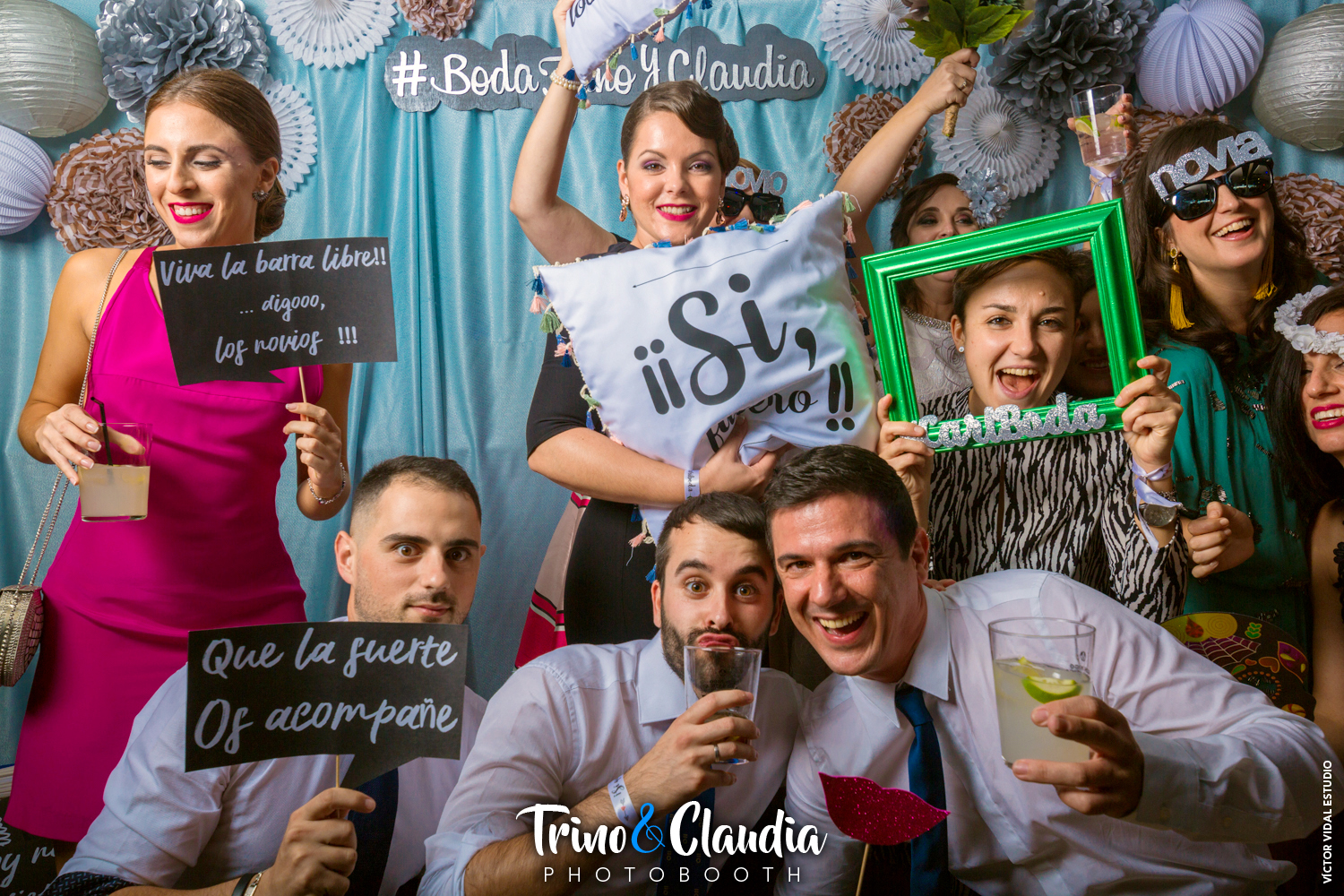 Photobooth Trino y Claudia